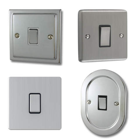 Chrome Sockets & Switches