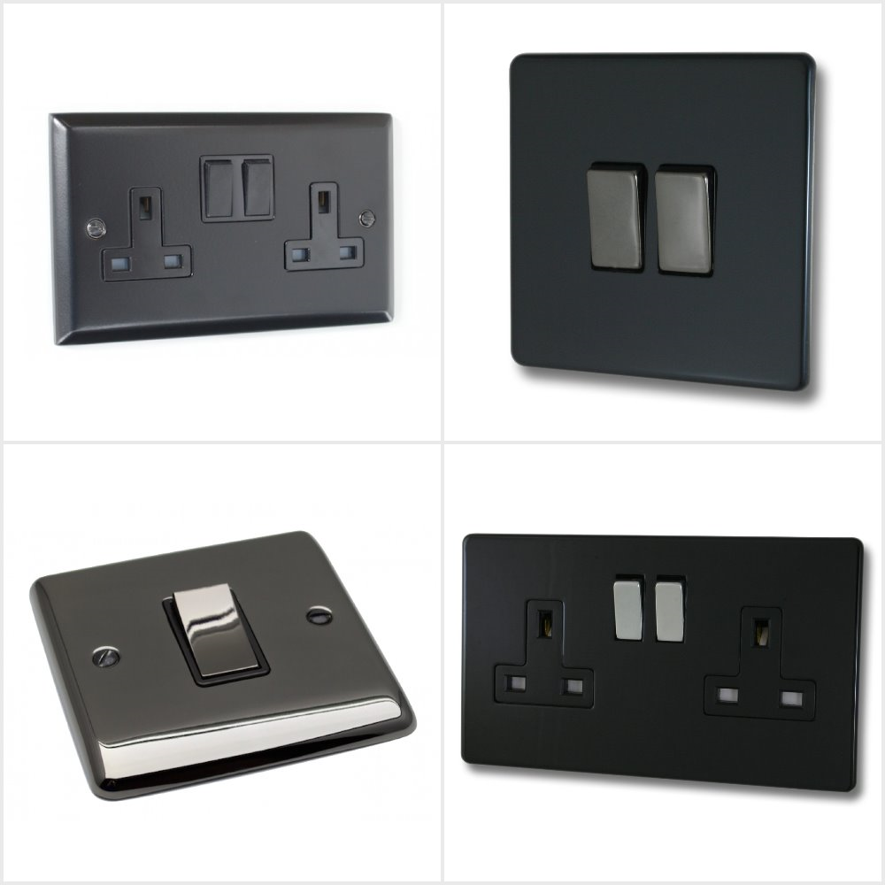 Black Sockets and Switches