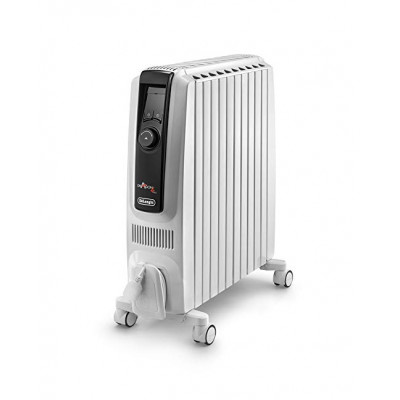 DeLonghi Dragon 4 TRDX41025E 2.5 kW Oil Filled Radiator with Digital Thermostat & ECO function