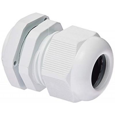 Compression Cable Gland Nylon 25mm White