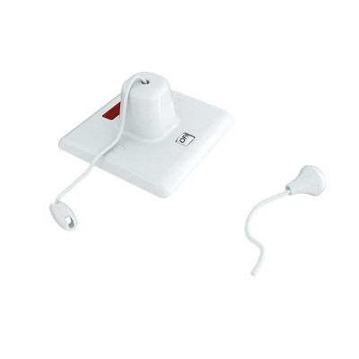 45A-Pull-Switch-White