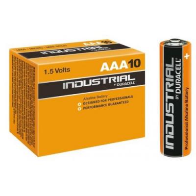 Duracell Industrial AAA Alkaline Batteries - Pack of 10