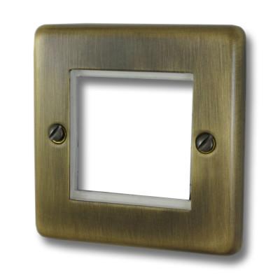 Data Module Plates - Windsor Antique Brass