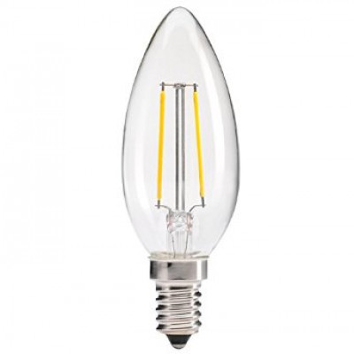 4w LED Dimmable Filament Candle Bulbs