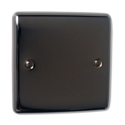 Blanks & Shaver Socket - Definition Black Nickel