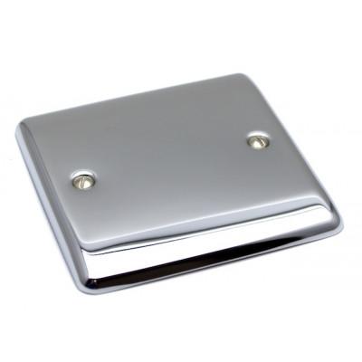 Blanks & Shaver Socket - Definition Polished Chrome