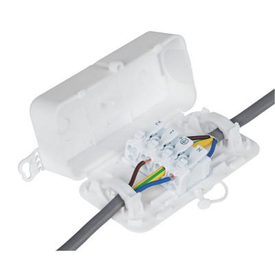 Debox 2SL Screwless In-line Junction Box