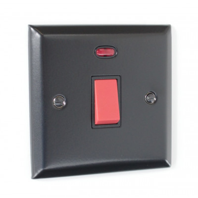 Cooker Switches - Elite Matt Black