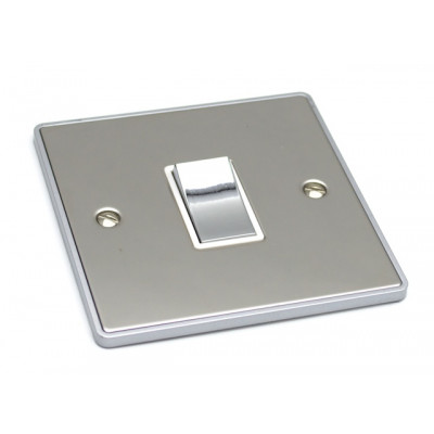 Light Switches - Urban Edge Polished Chrome