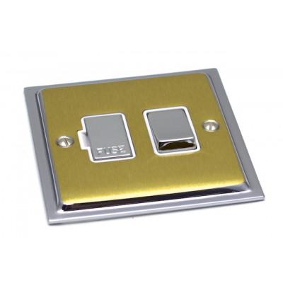 Spurs - Ultra Slim Polished Chrome and Satin Brass