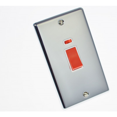 Cooker Switches - Windsor Polished Chrome