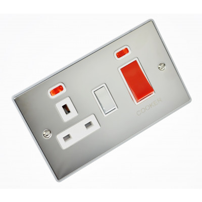Cooker Switches - Urban Edge Polished Chrome