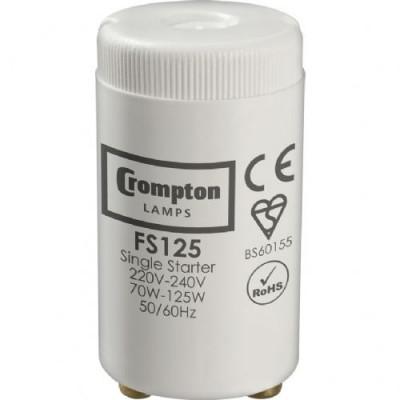 crompton-fs125-fluorescent-starter-70-125w