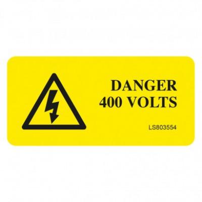 Danger-400-Volts-Safety-Label-Pack-of-10-VUEP005