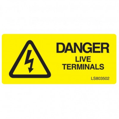 Danger-Live-Terminal-Safety-Label-Pack-of-10