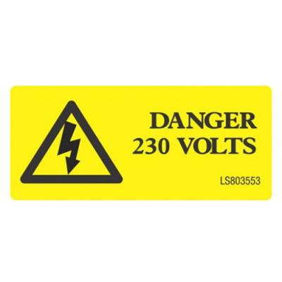 Danger-230-Volts-Label-Pack-of-10