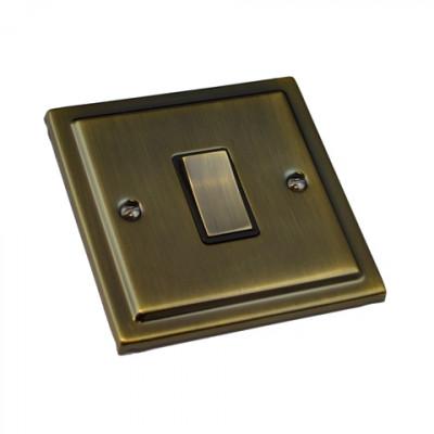 Light Switches - Regency Antique Brass