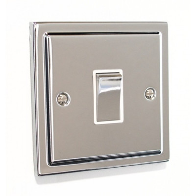 Light Switches - Regency Polished Chrome