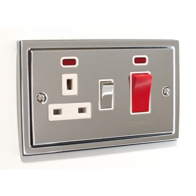 Cooker Switches - Regency Polished Chrome