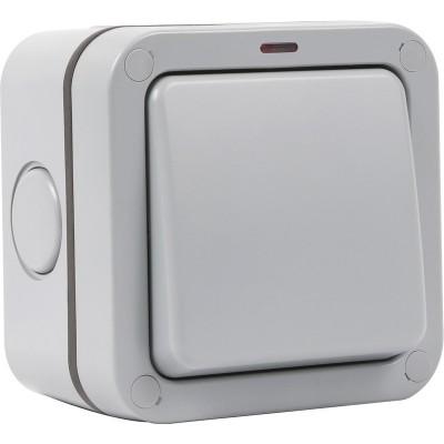 Weatherproof Outdoor Single 20A Light Switch IP66 - SFG01