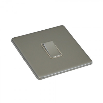 Light Switches - Screwless Polished Chrome