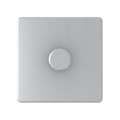 Dimmer Switches - Screwless Brushed Chrome