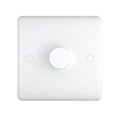 Dimmer Switches - Studio White Plastic