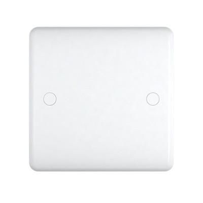 Blanks & Shaver Socket - Studio White Plastic