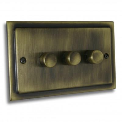 Dimmer Switches - Victorian Antique Brass