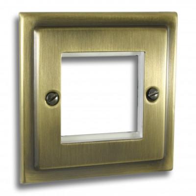 Data Module Plates - Victorian Antique Brass