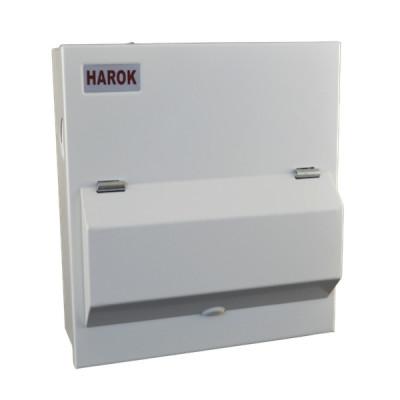 Harok - Amendment 3 Consumer Unit 8 Way C/w 100a Main Switch
