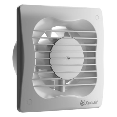 Xpelair VX100T 16W Bathroom Extractor Fan with Timer White 240V