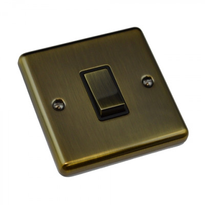 Light Switches - Windsor Antique Brass