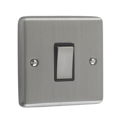 Light Switches - Windsor Brushed Chrome