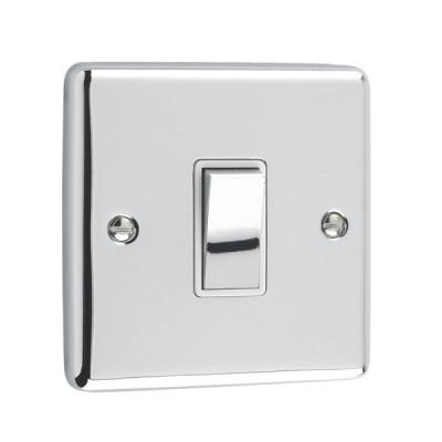 Light Switches - Windsor Polished Chrome