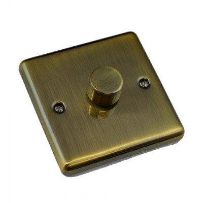 Dimmer Switches - Windsor Antique Brass