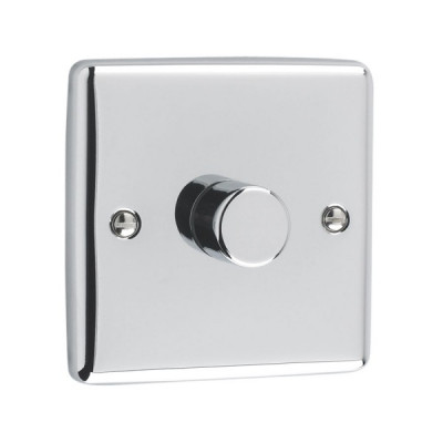Dimmer Switches - Windsor Polished Chrome