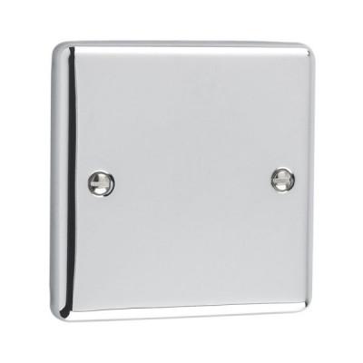 Blanks & Shaver Socket - Windsor Polished Chrome
