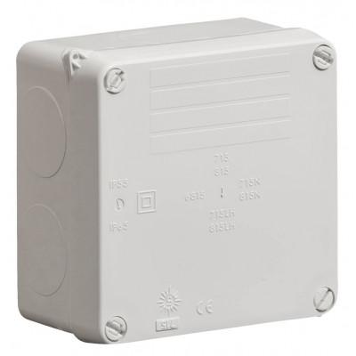 Wiska Surface Sealed Boxes IP65 110 x 110 x 60