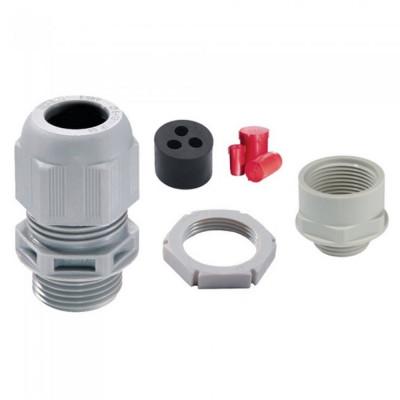 Wiska TKE/P40/RD IP68 Plastic Tails Gland Kit c/w Insert & Locknut - 32mm / 40mm