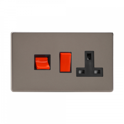 Cooker Switches - Varilight Pewter