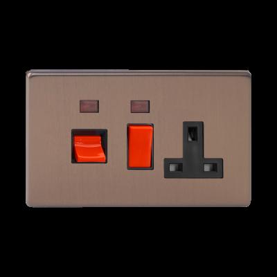 Cooker Switches - Varilight Brushed Bronze