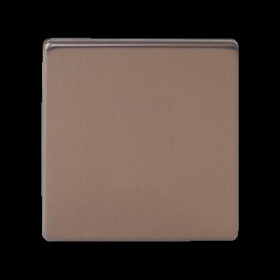 Blanks & Shaver Socket - Varilight Brushed Bronze