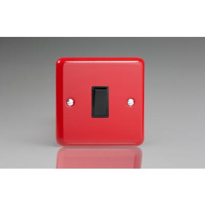Varilight 1 Gang 10a Light Switch Pillar Box Red -  XY1B.PR