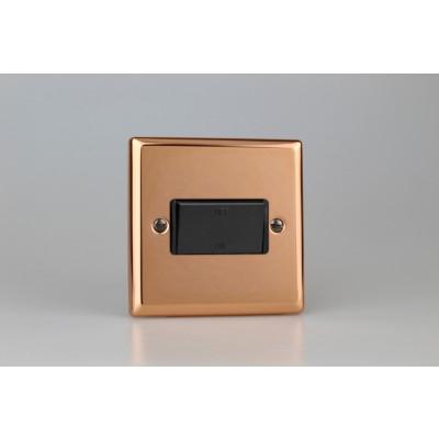 Varilight Copper 10A Fan Isolating Switch (3 Pole)