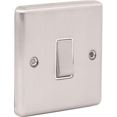 1 Gang Single 10A Light Switch W01BSW