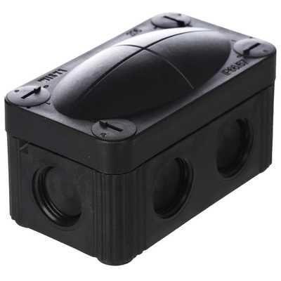 Wiska COMBI 206 - IP66/67 Black