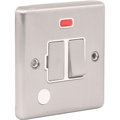 13A Switched Fuse Spur with Neon W39BSW