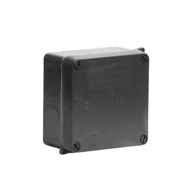 Wiska-Surface-Sealed-Box-IP65-Black-110-x-110-x-60-815N