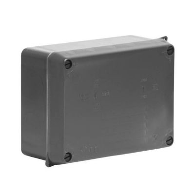Wiska-Surface-Sealed-Box-IP65-Black-160-x-120-x-70-816N
